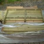 Balançoire de jardin: paquet